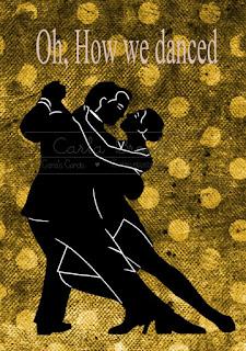 Argentine Tango Silhouette