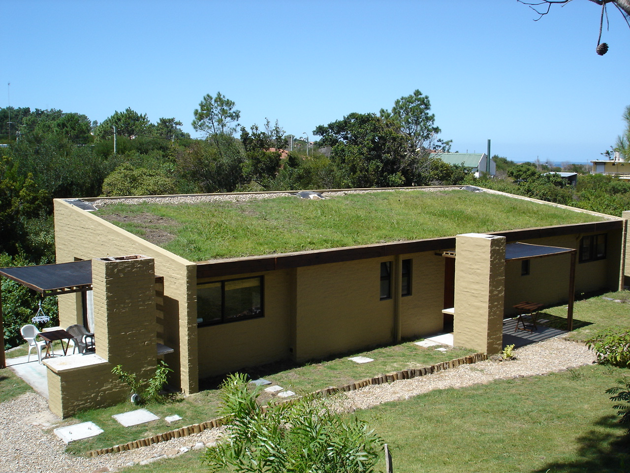 Arquitectura directa sustentabilidad ecolog a y - Techos ligeros para casas ...