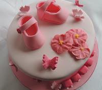 tarta fondant nacimiento bebé