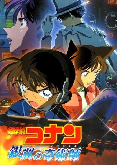 Thám Tử Lừng Danh Conan 8: Nhà Ảo Thuật Với Đôi Cánh Bạc - Conan Movie 08: Magician of the Silver Sky - 2004