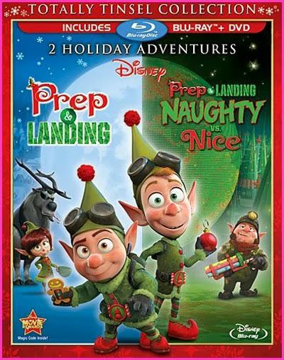 Prep & Landing Naughty vs Nice (2011) m720p BDRip 421MB mkv Latino AC3
