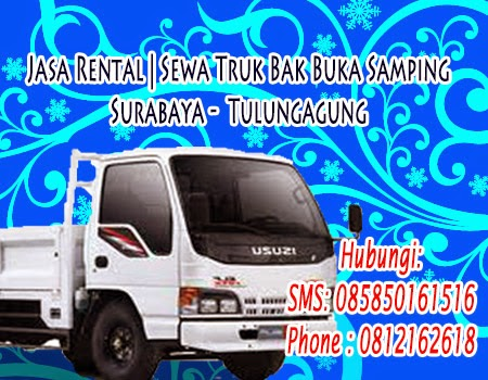 Jasa Rental | Sewa Truk Bak Buka Samping Surabaya -  Tulungagung