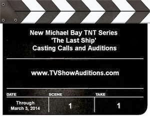 How to find casting calls for TNT series The Last Ship