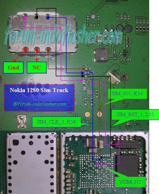 Digital Ghost  Nokia 1280 Sim Full Track