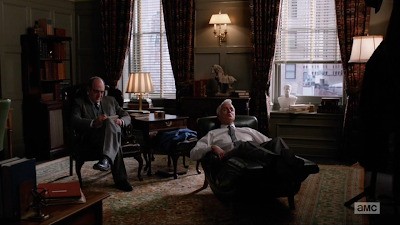 Roger Sterling Mad Men S06E01-02. The Doorway