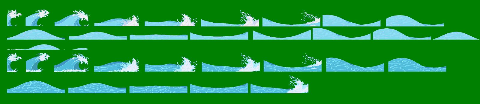 Sprite Fx: Sprite Water Wailmer Sprite