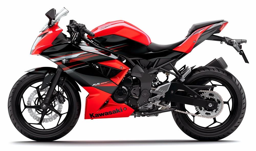 DAFTAR HARGA Motor Kawasaki Terbaru 2014 Kenaikan Harga Update