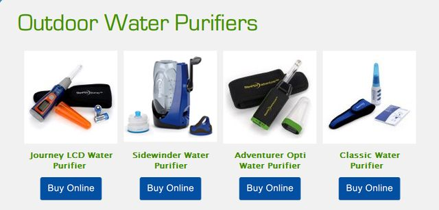 Outdoor Water Purifier Models