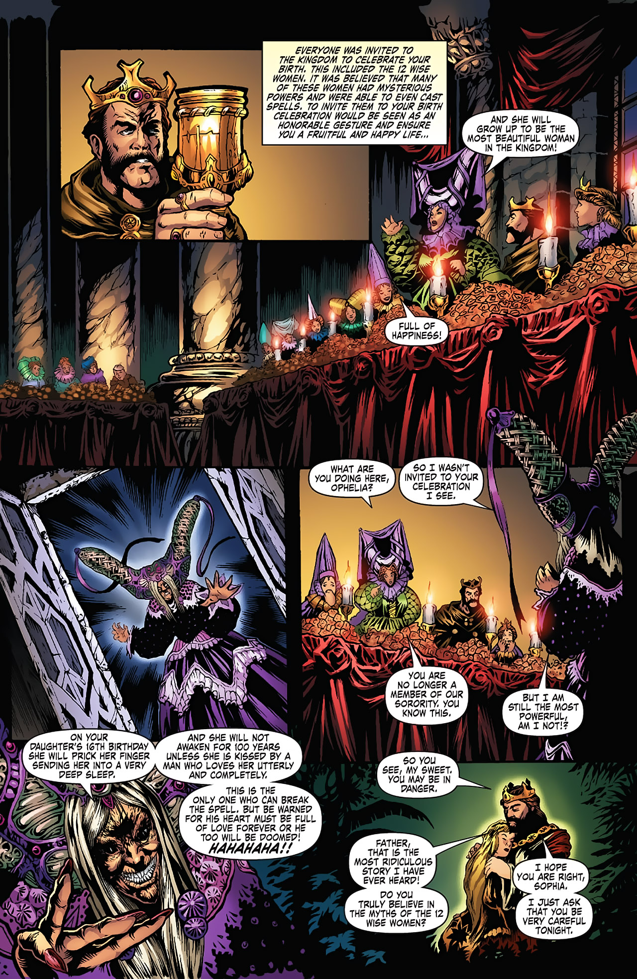 Grimm Fairy Tales (2005) Issue #5 #8 - English 8