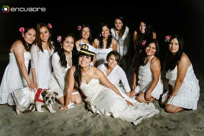 sesión fotos novia playa