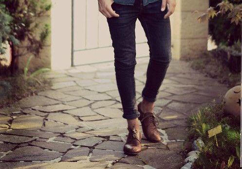 MEN'S CLOTHES COLOR MATCHING : DARK BLUE DENIM JEANS DENIM ...