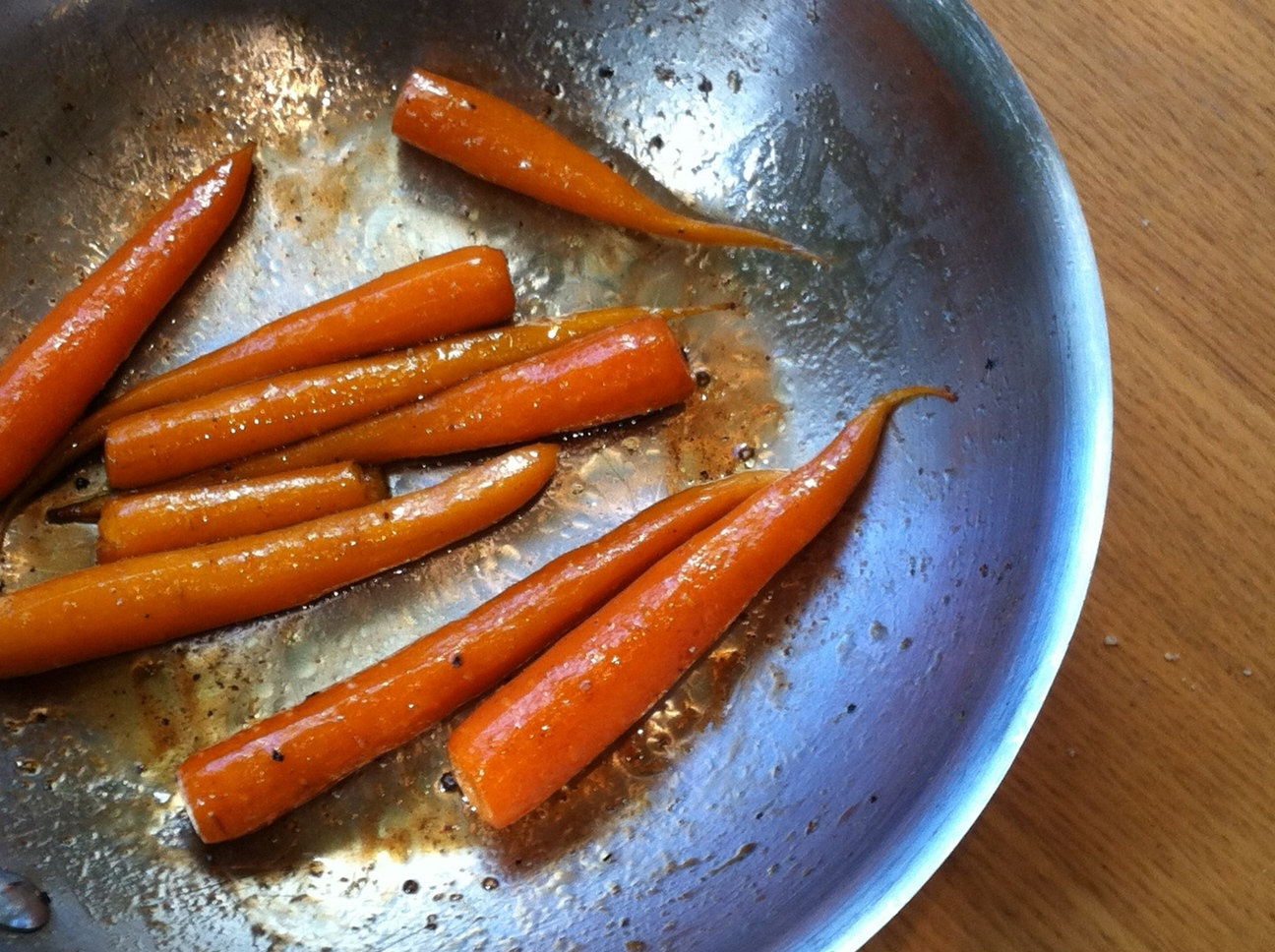 how to cook carrots on the stove