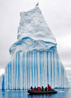 Striped Icebergs Travel