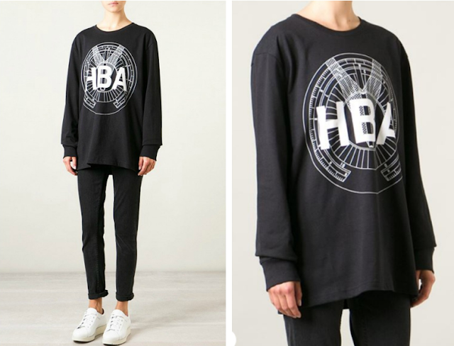 Must Have: Logo Compass Print Sweatshirt