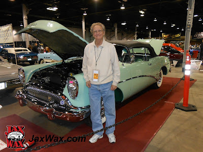 1954 Buick Skylark Convertible Jax Wax Chicago World of Wheels