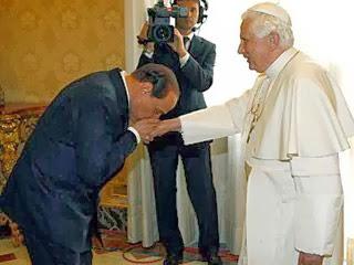 Berlusconi e Ratzinger