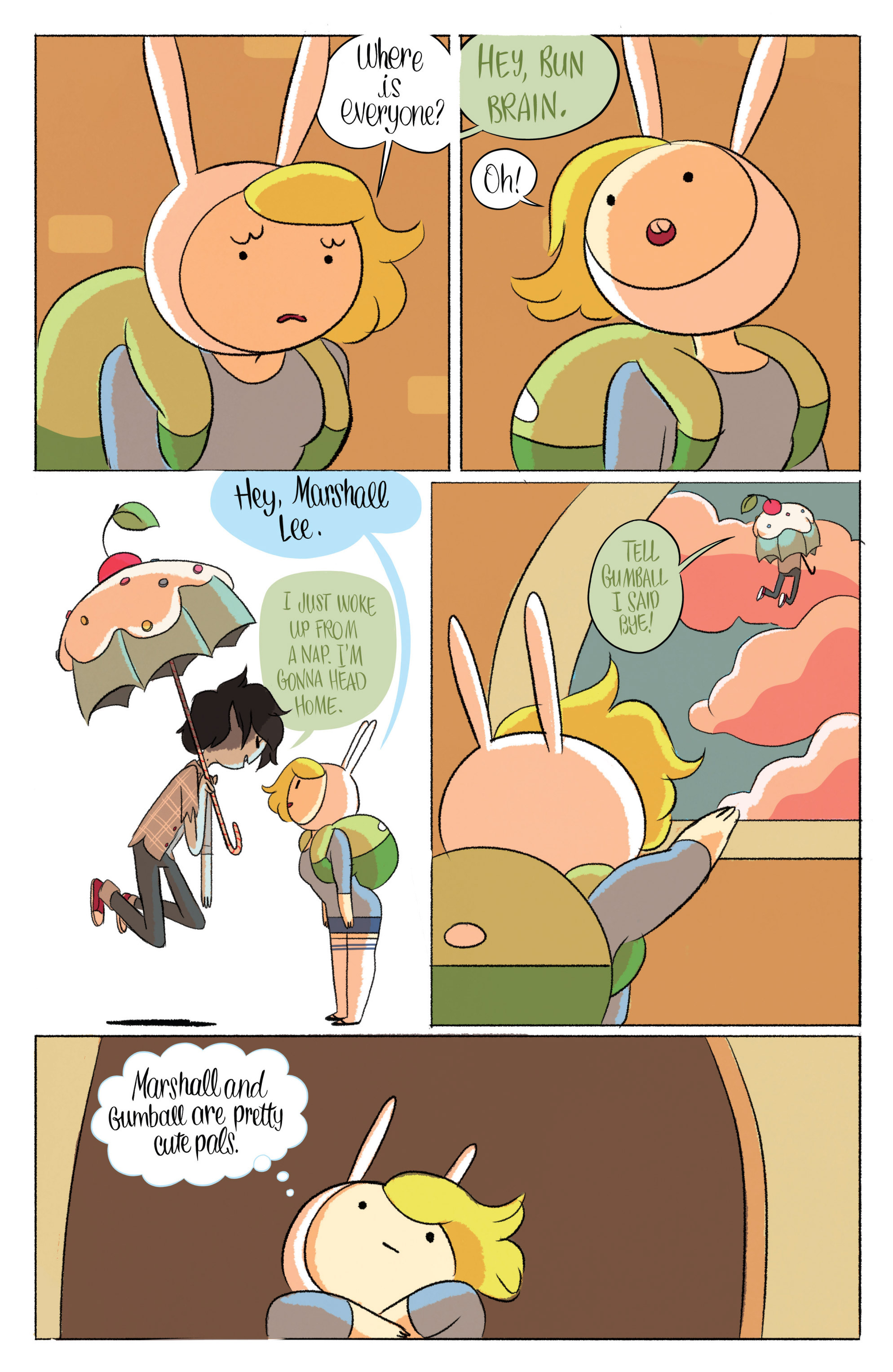 Read online Adventure Time with Fionna & Cake comic -  Issue #5 - 7