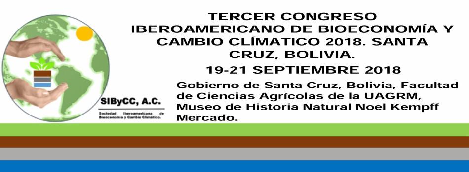 PRIMER CONGRESO IBEROAMERICANO DE BIOECONOMÍA Y CAMBIO CLÍMATICO 2018