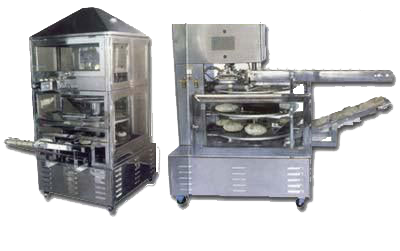 manual stainless steel roti maker