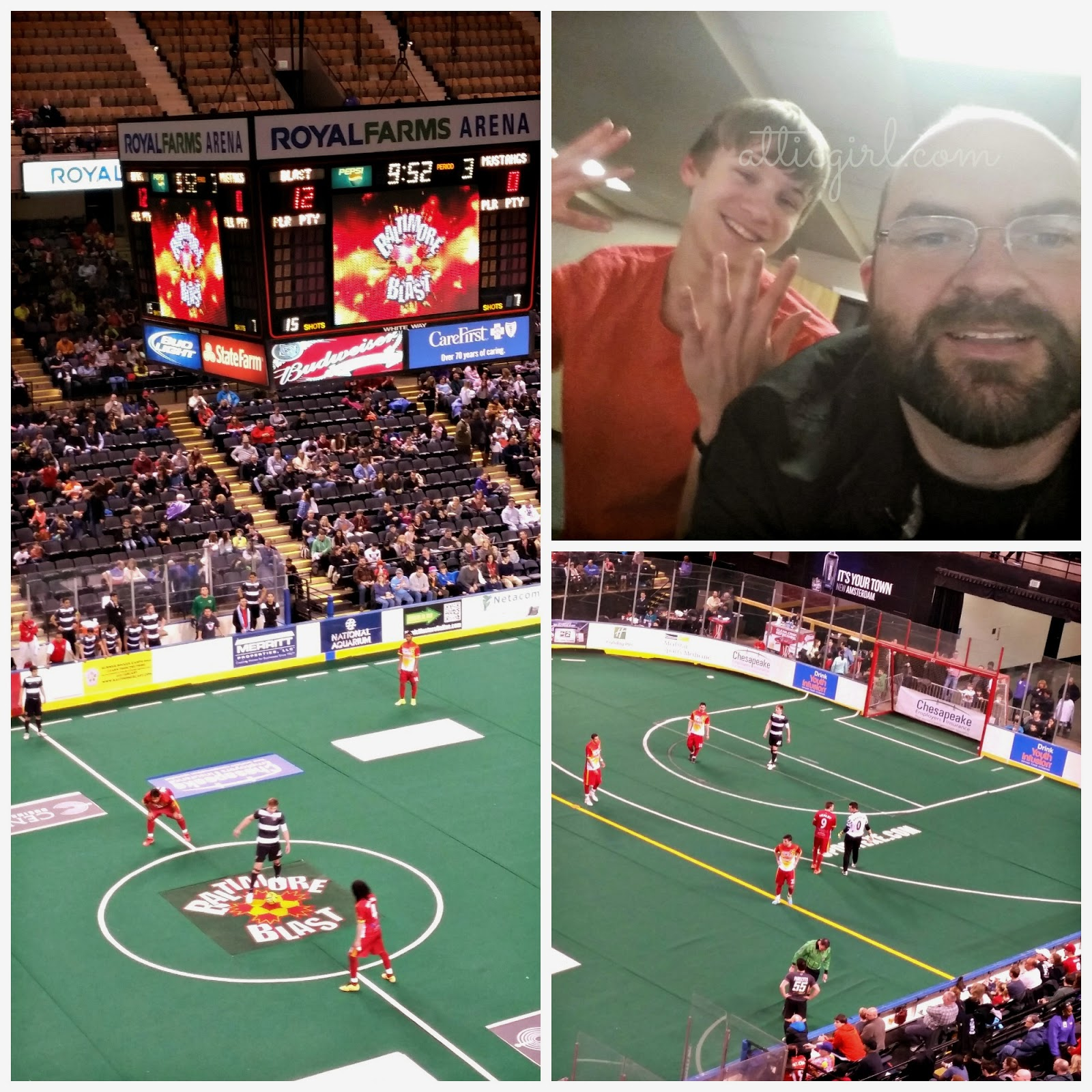 Baltimore Blast CHristian Youth Night