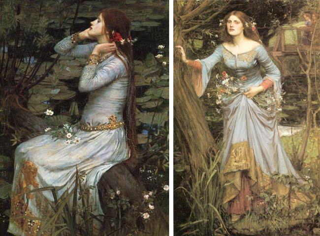 Ophelia Shakespeare: A Little Overview Of J.W. Waterhouse