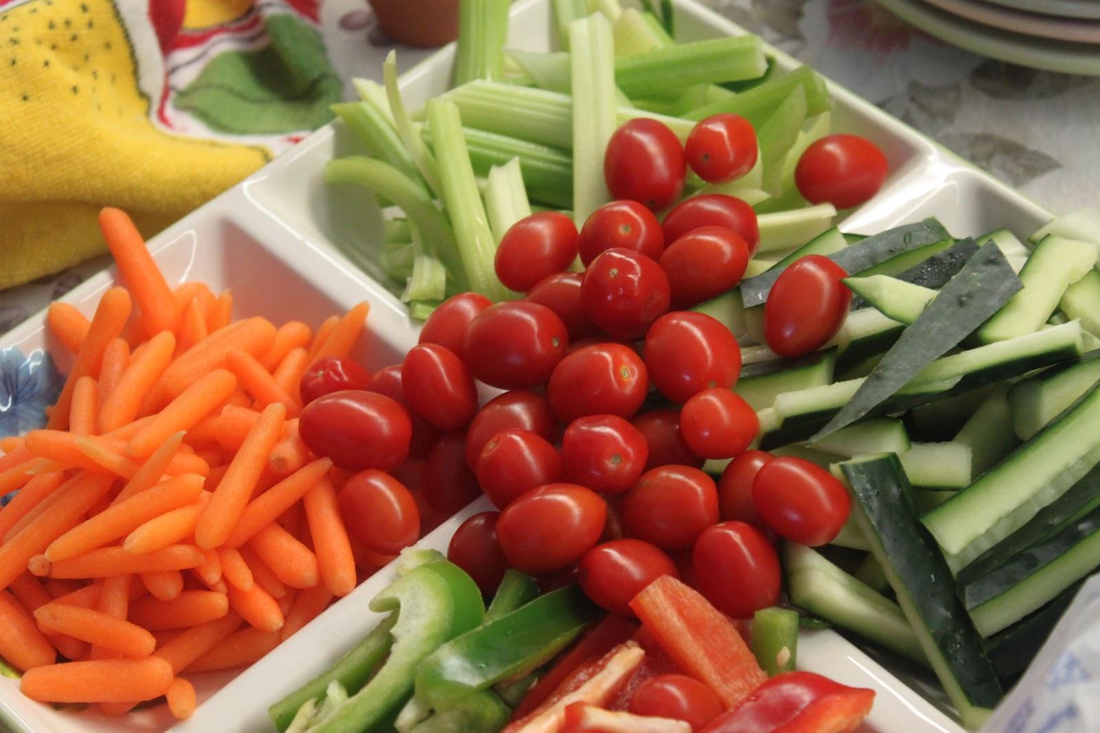 similiar veggie platters for baby shower keywords