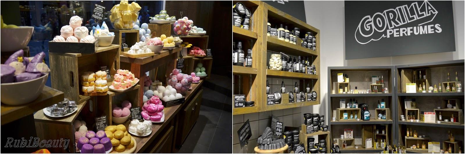 Lush SPA madrid rubibeauty tienda shop