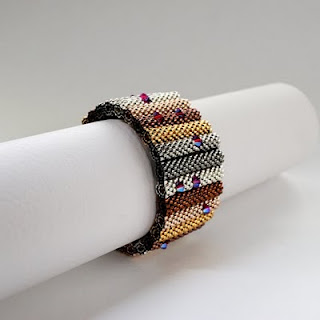 beadwork beaded blogs of beaders bead weaving bracelet
