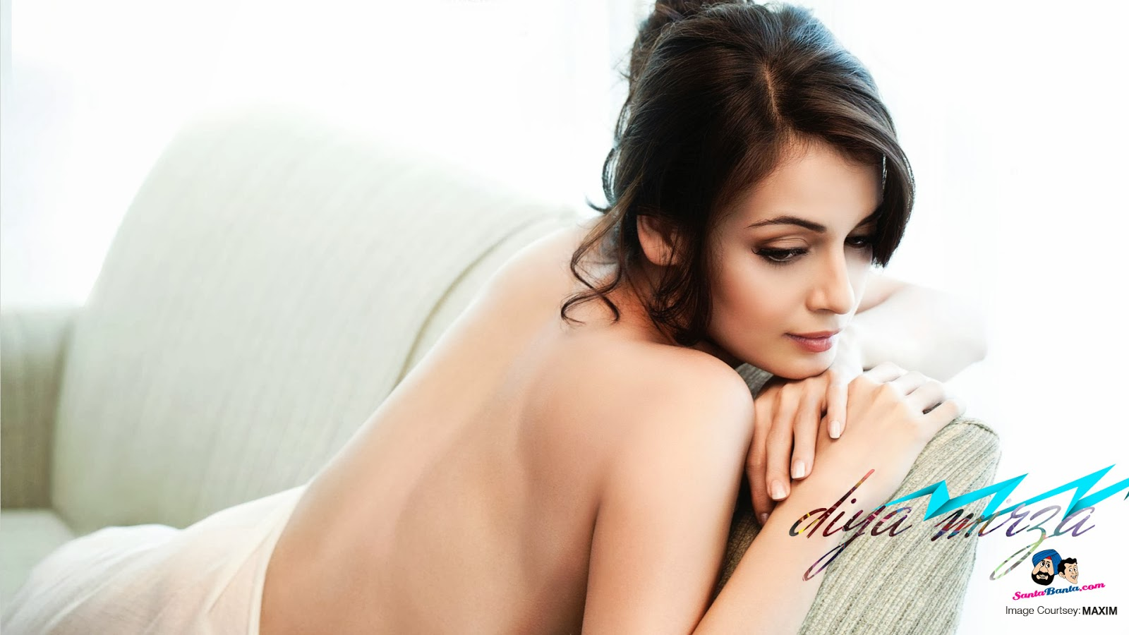 sexy picture of diya mirza stool