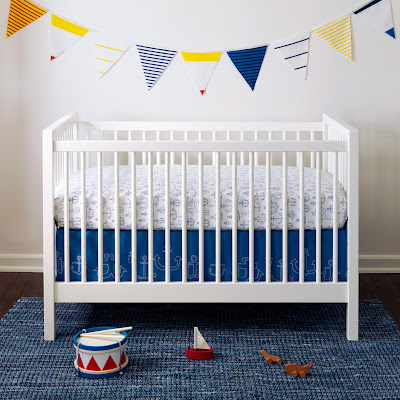 Unison home anchor crib set