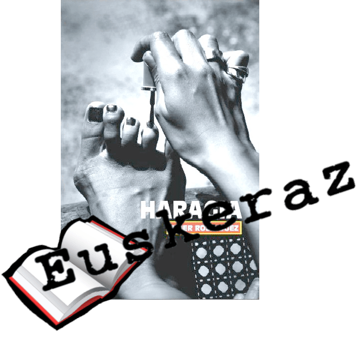 Haragia, Eider Rodriguez liburutegiko irakurle klubean komentatuz
