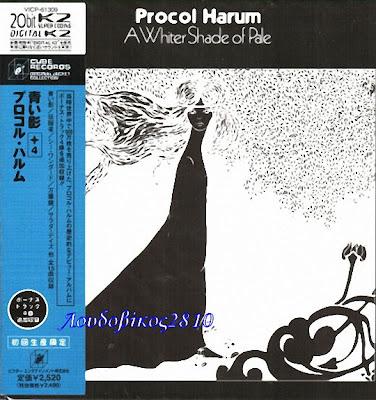 PROCOL HARUM A white shade of pale (1967)