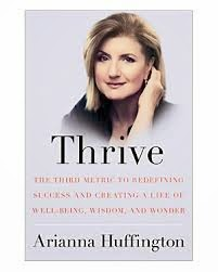 Thrive book cover Arianna Huffington