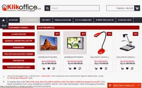 Belanja ATK Online