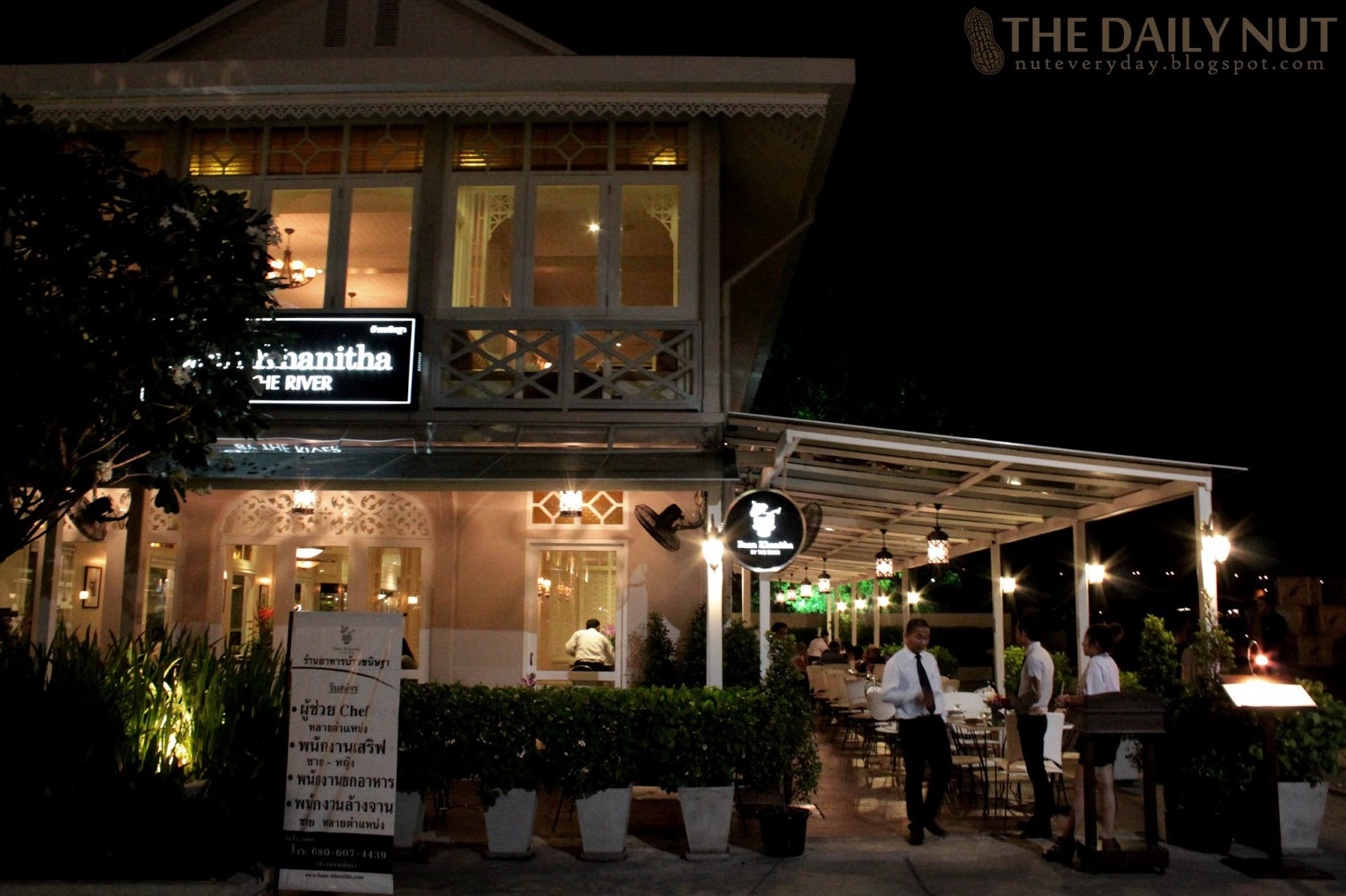 The daily nut bangkok baan khanitha by the river for Asiatique cuisine