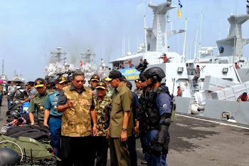 Gelar Kekuatan Alutsista TNI AL. Prokimal Online Kotabumi Lampung Utara