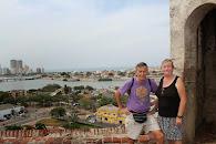 Cartagena op het fort.