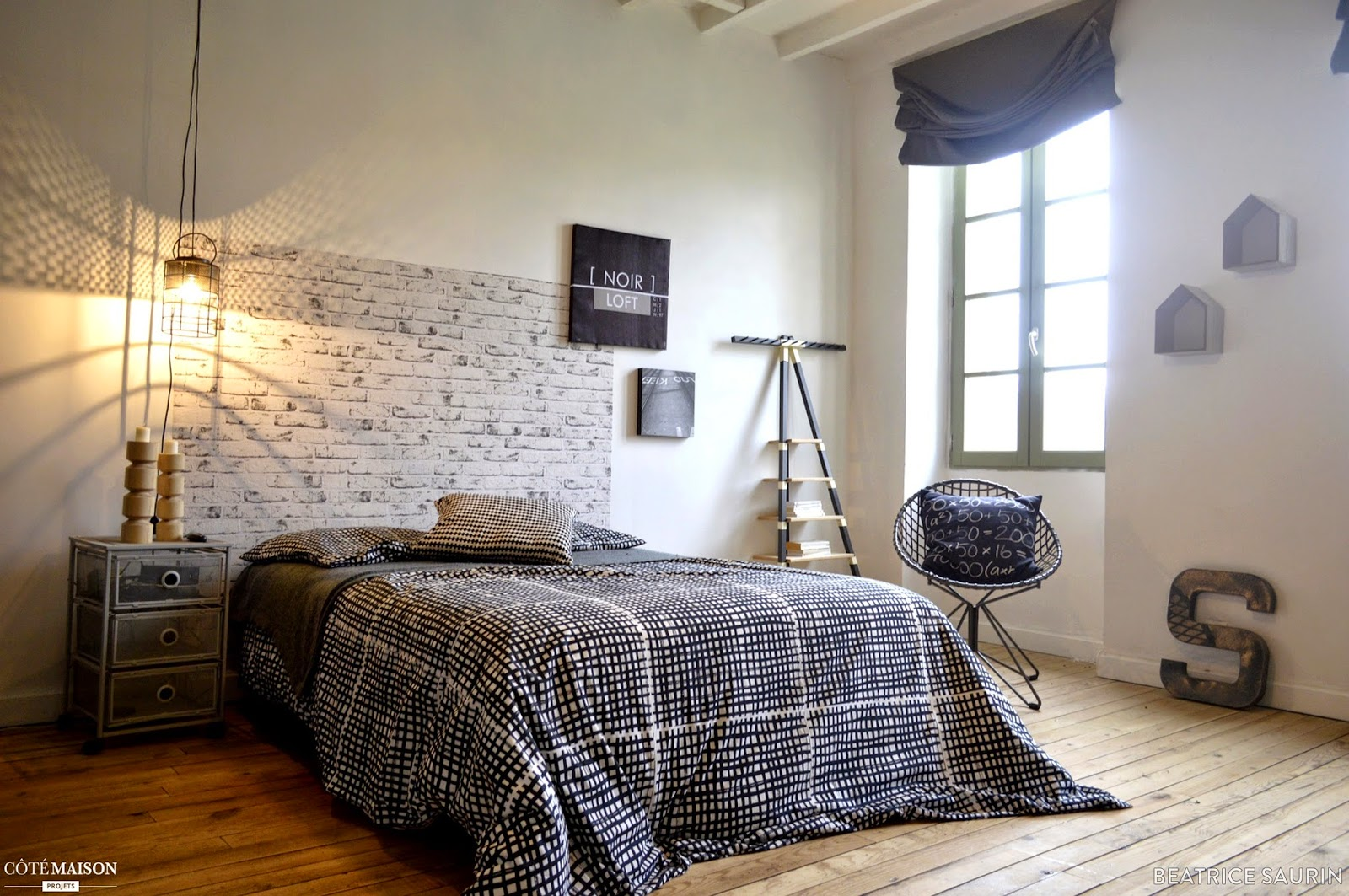 Sem 13 2015 sur les blogs d co for Chambre ado style industriel