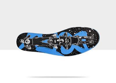 Black/Blue, Style - Color # 579591-012
