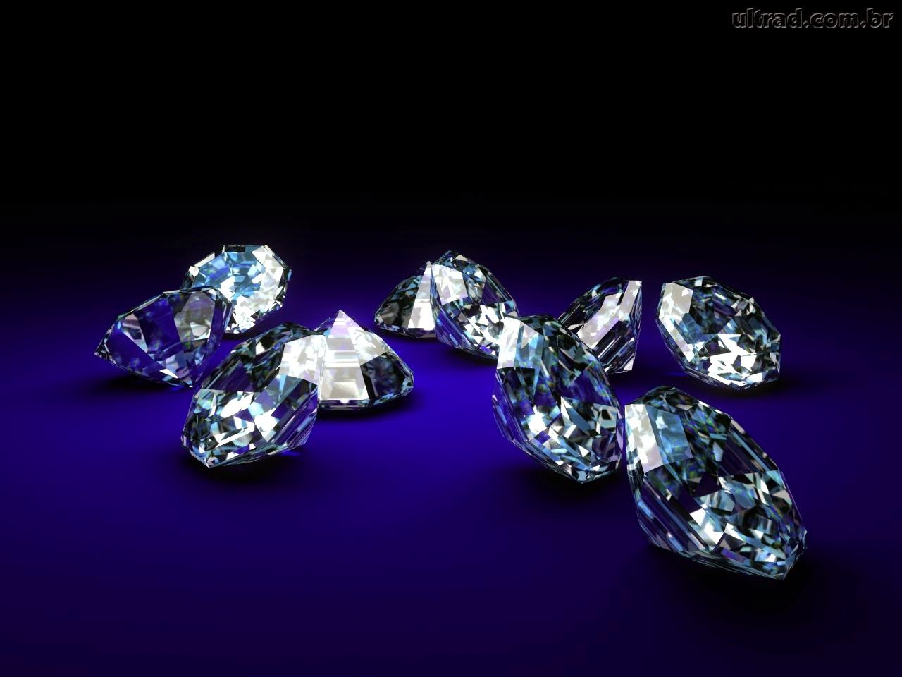 Papel De Parede Diamantes X