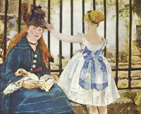 The Railway by Edouard Manet art