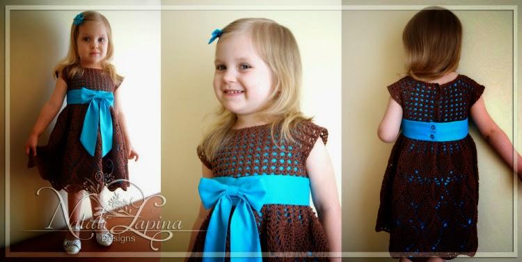 vestido tejido con ganchillo