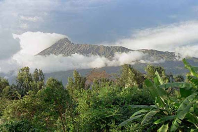 Mountain Meru in Tanzania