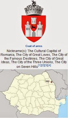 Ιάσιο, Ρουμανία. http://leipsanothiki.blogspot.be/