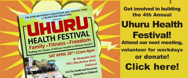 Get Involved with the Uhuru Health Festival!