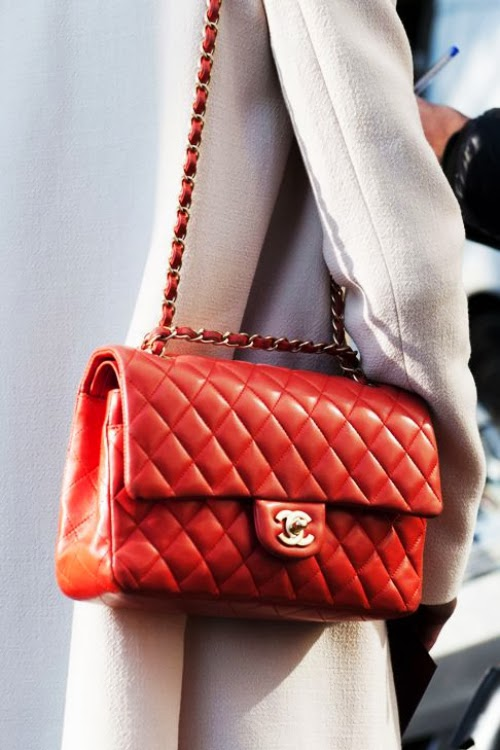Attractive Red Chanel Chance Long Bag, Love It