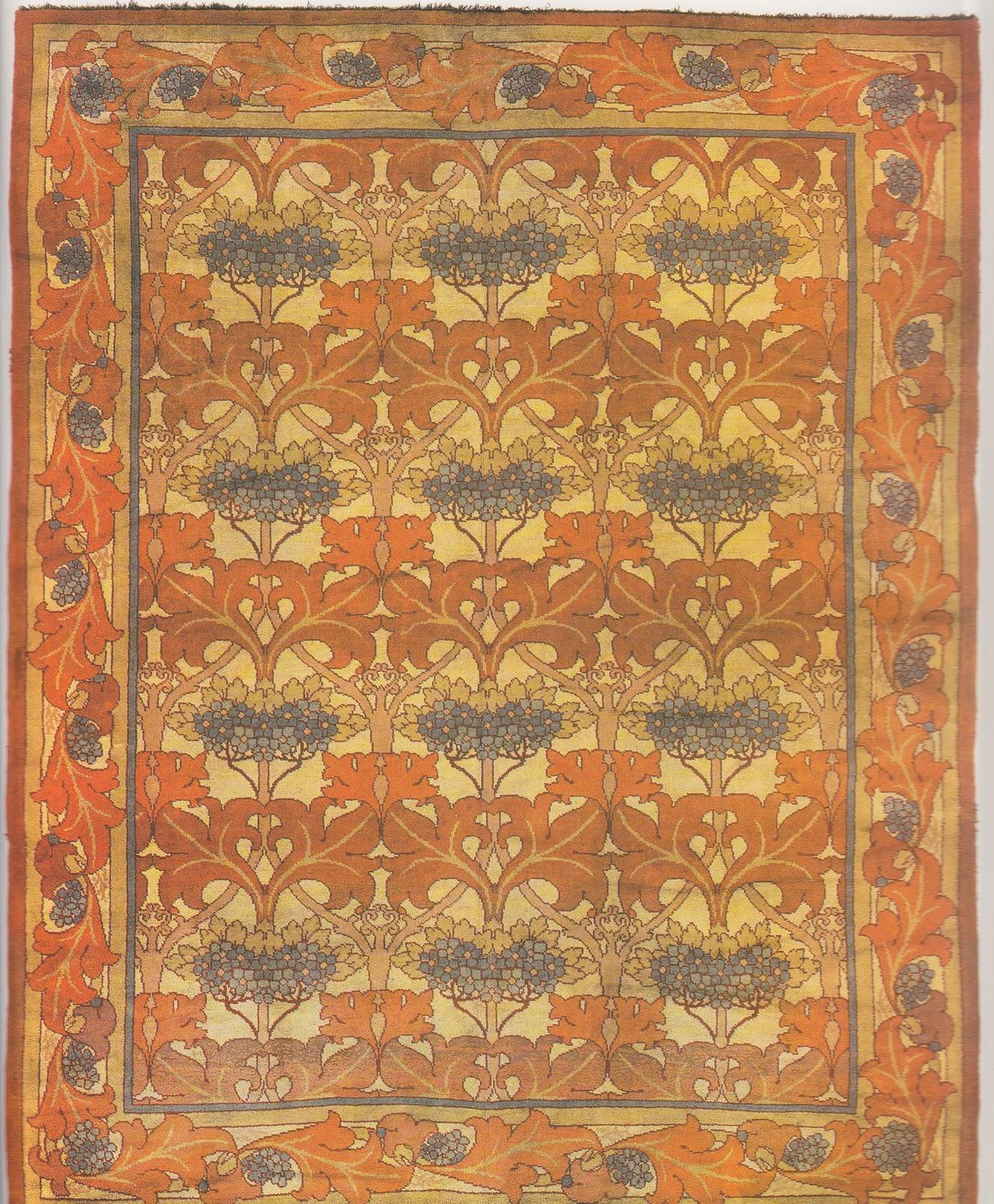 Laurelhurst craftsman bungalow craftsman rug research for Arts and crafts carpet
