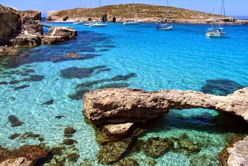 Lagoa Azul – Ilha Comino – Malta