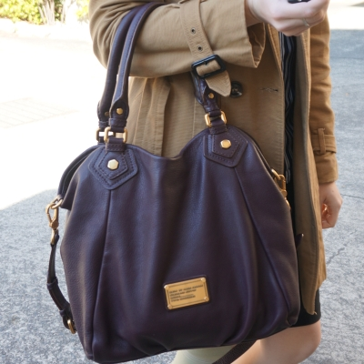AwayfromBlue | Marc By Marc Jacobs Classic Q Fran bag with gold hardware in carob brown
