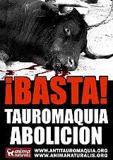 !TAUROMAQUIA NO!